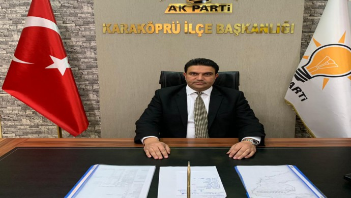 AK Parti Karaköprü İlçe Başkanı Sait Ağan' dan23 Nisan mesajı