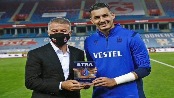 Trabzonspor Kaptanı Uğurcan Çakır Socios. com'da sezonun oyuncusu seçildi